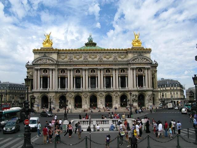 Palais Garnier em Paris