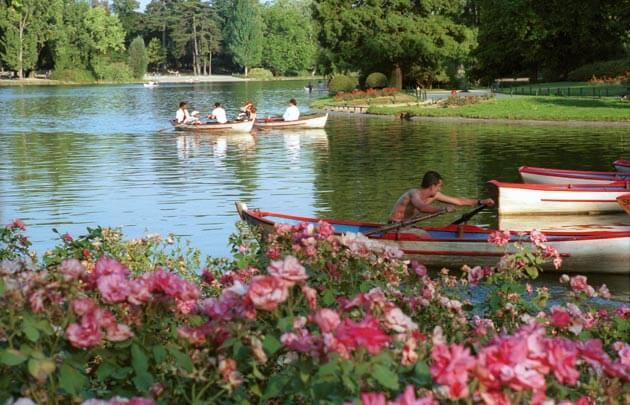 Parque Le Bois de Vincennes em Paris