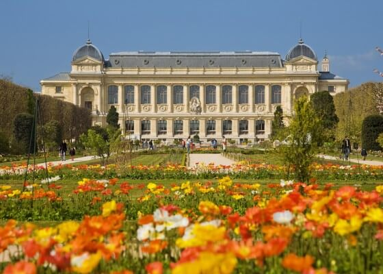 Jardin des plantes em Paris