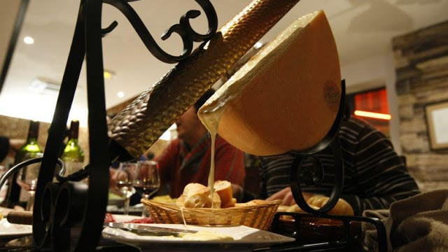 Raclette em Paris