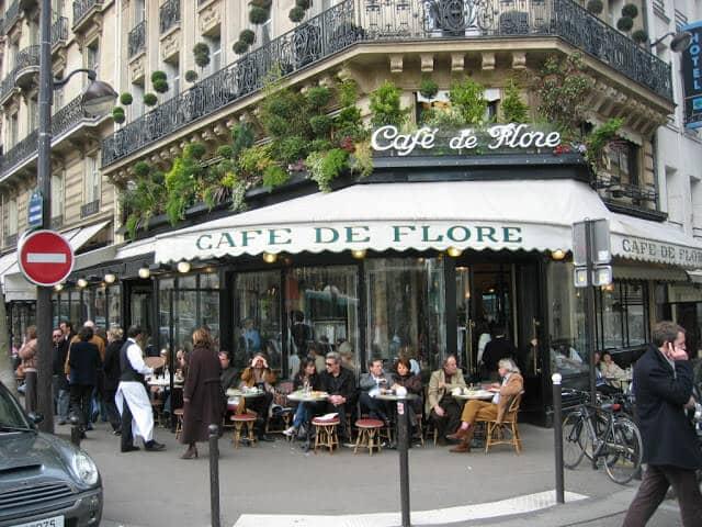 10 Cafés e Bares de Paris