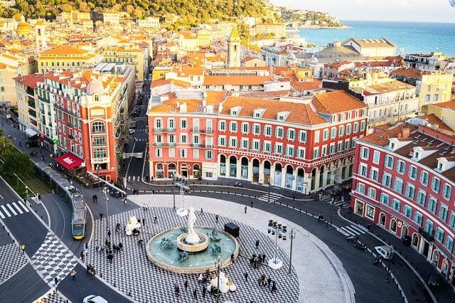 Place Massena em Nice