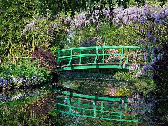 A casa e os jardins de Monet em Giverny na França