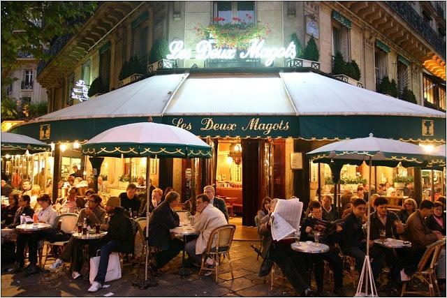 Les Deux Magots em Paris
