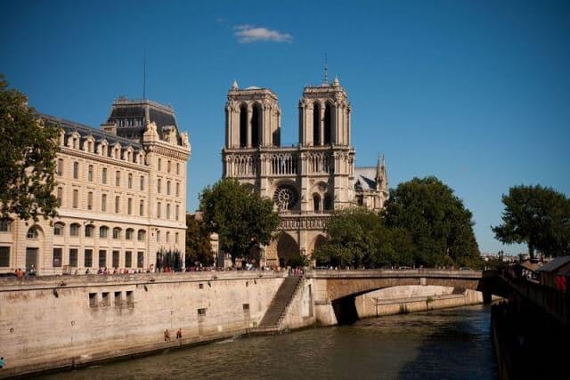 Vista da Notre Dame em Paris