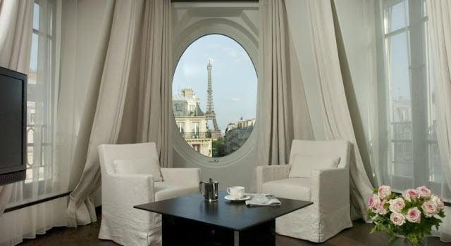 Vista do Hotel Radisson Blu Le Metropolitan em Paris