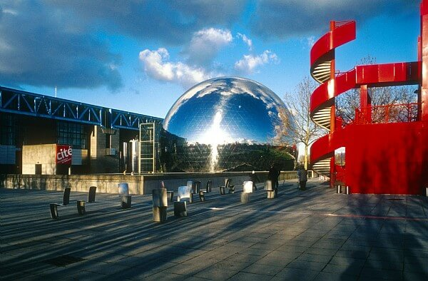 Parque de la Villette em Paris