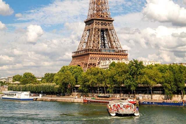 Paris a partir do Sena