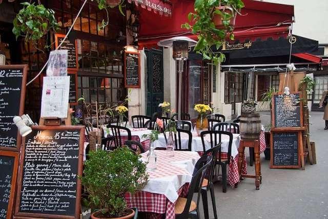Restaurante em Paris