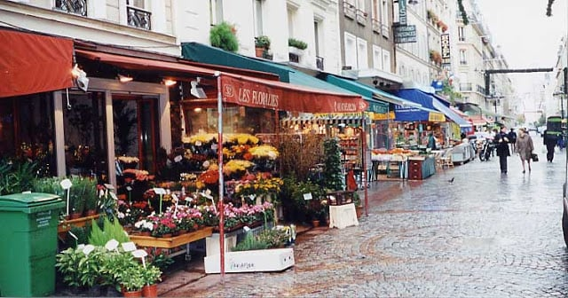 Rue Cler em Paris