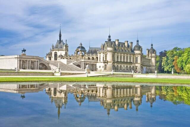 Castelo Chantilly na França
