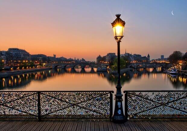Pont des Arts em Paris
