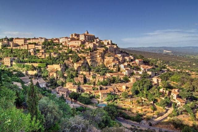 Cidade de Gordes na França