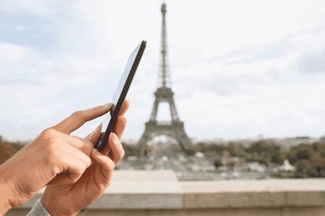 Usando o celular na França e Europa