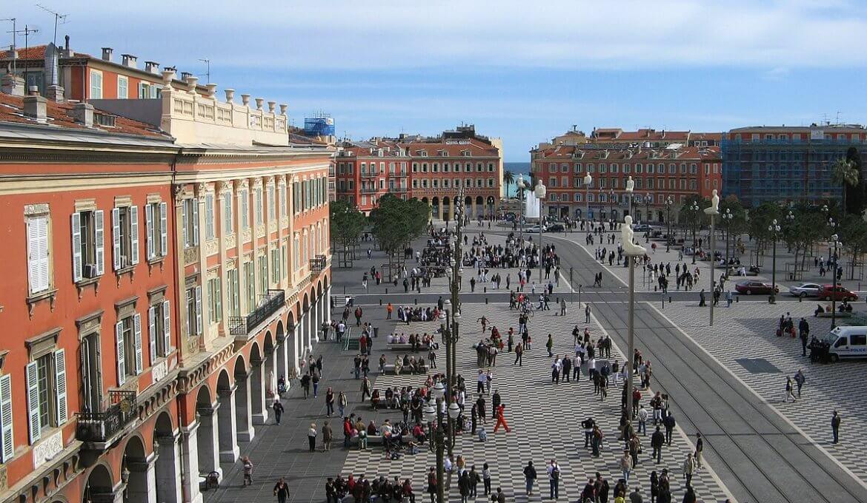 Praça Massena em Nice