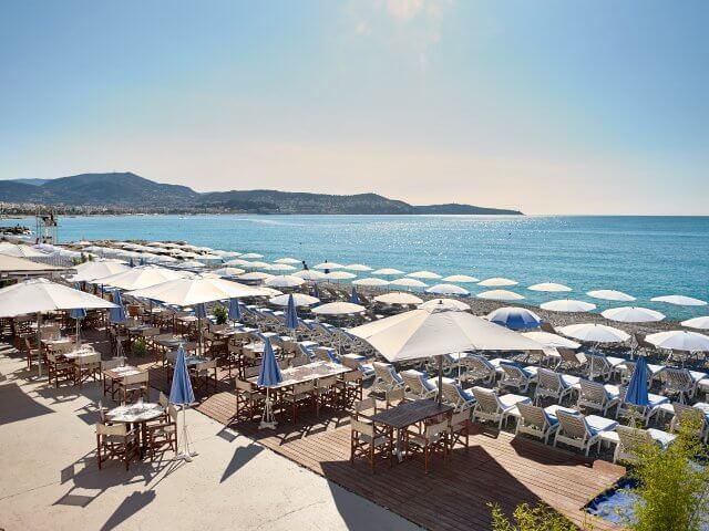 Praia Blue Beach em Nice