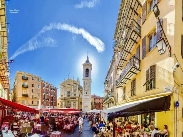 Vista de Vieux Nice
