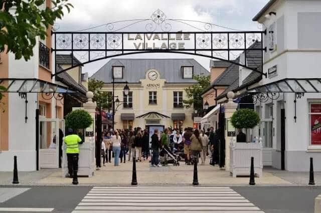 Outlet La Vallée Village em Paris