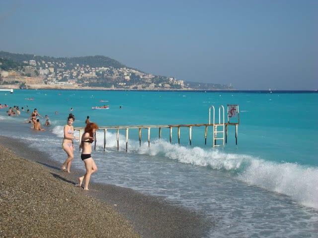 Melhores praias em Nice