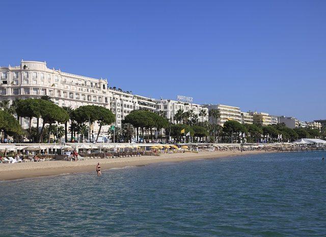 La Croisette em Cannes