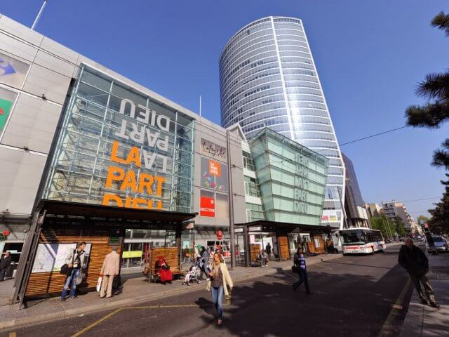 Melhores shoppings em Lyon