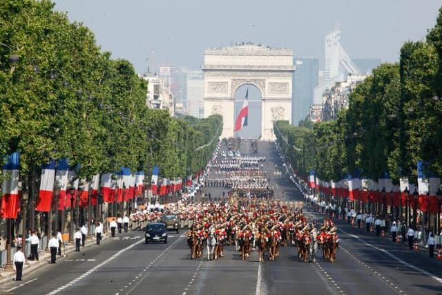 Desfile da queda da Bastilha