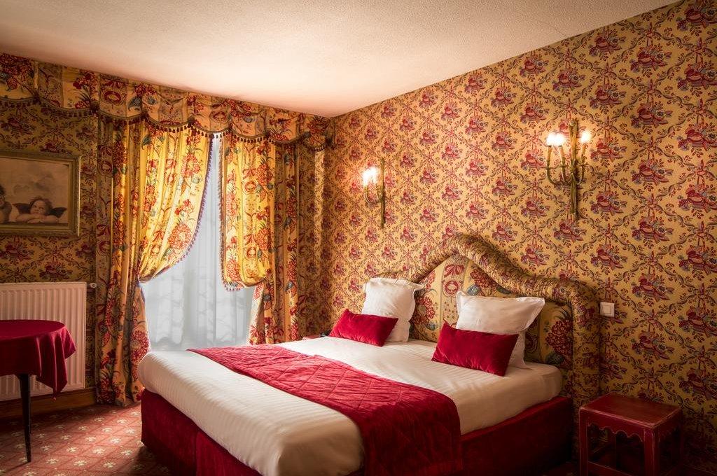 Interior do Hotel de France em Versalhes