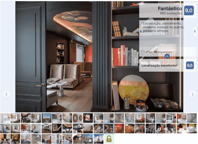 Hotel La Comtesse em Paris