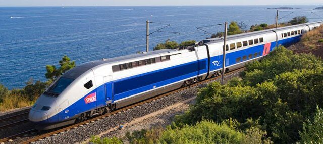 Viagem de trem de Toulouse a Barcelona