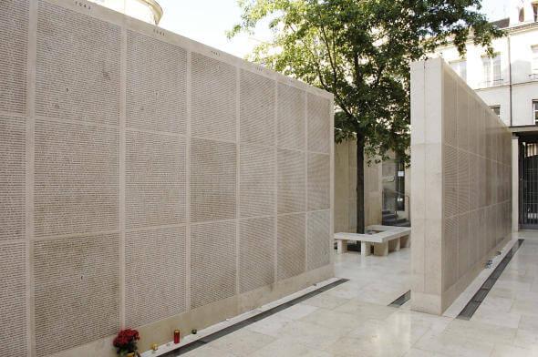 Memorial Shoah em Paris