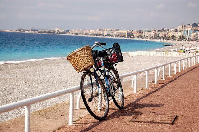 Como andar em Nice