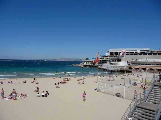 Praias em Marselha