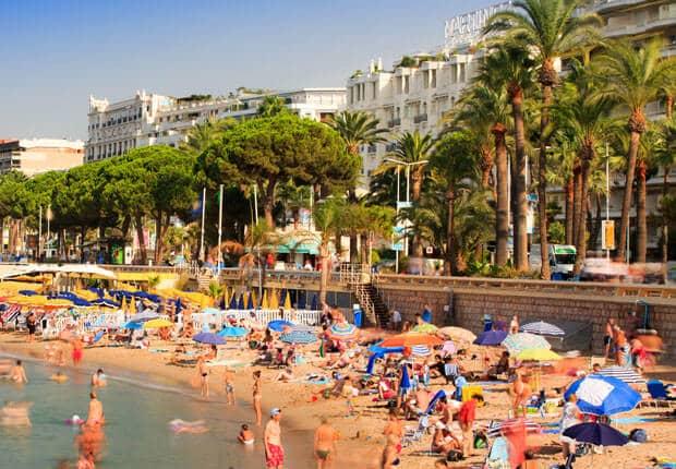 Praia de Cannes