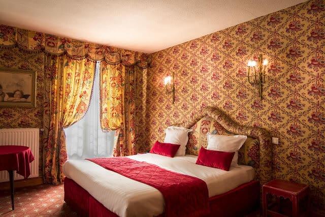 Quarto do Hotel de France