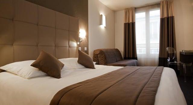 Quarto do Hotel Mercure Versaille