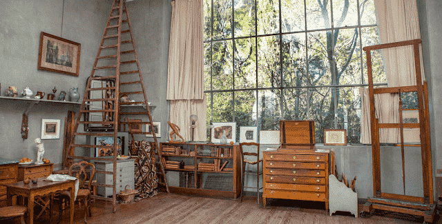 Atelier Cézanne em Aix