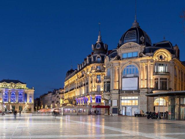 Noite em Montpellier