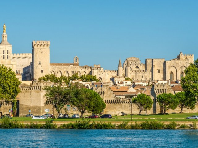 Lua de mel em Avignon