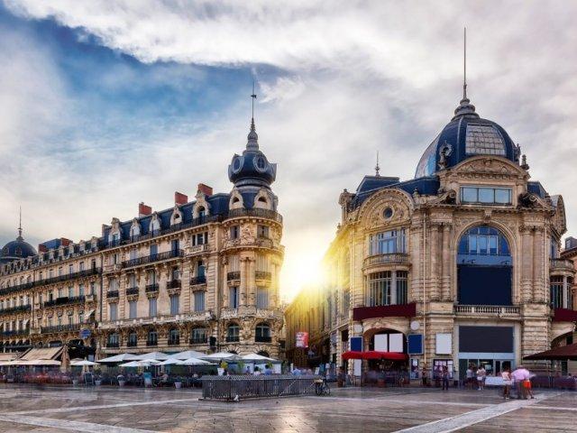 Fim de tarde em Montpellier