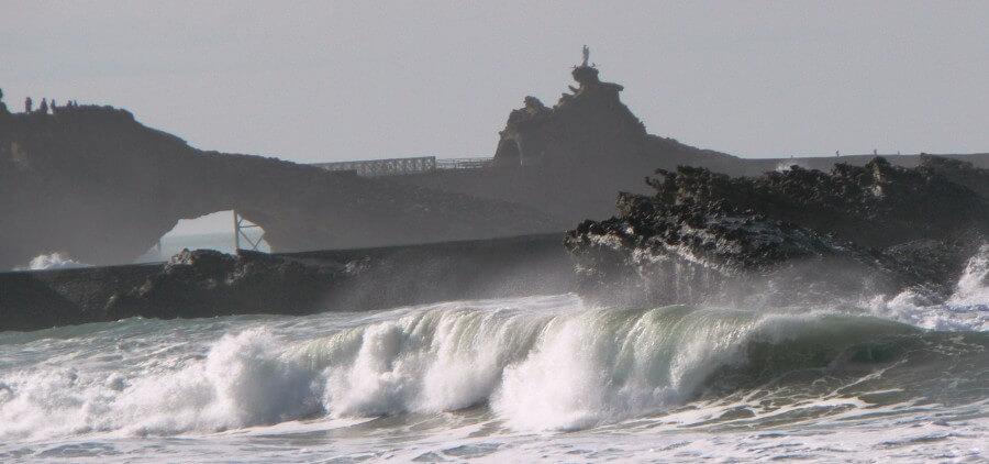 Inverno em Biarritz