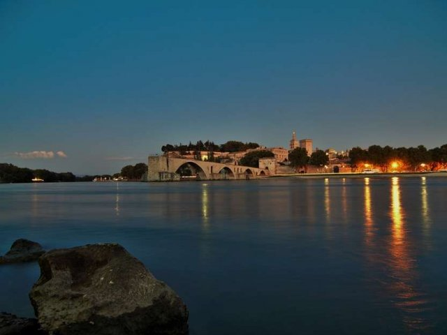 Noite em Avignon