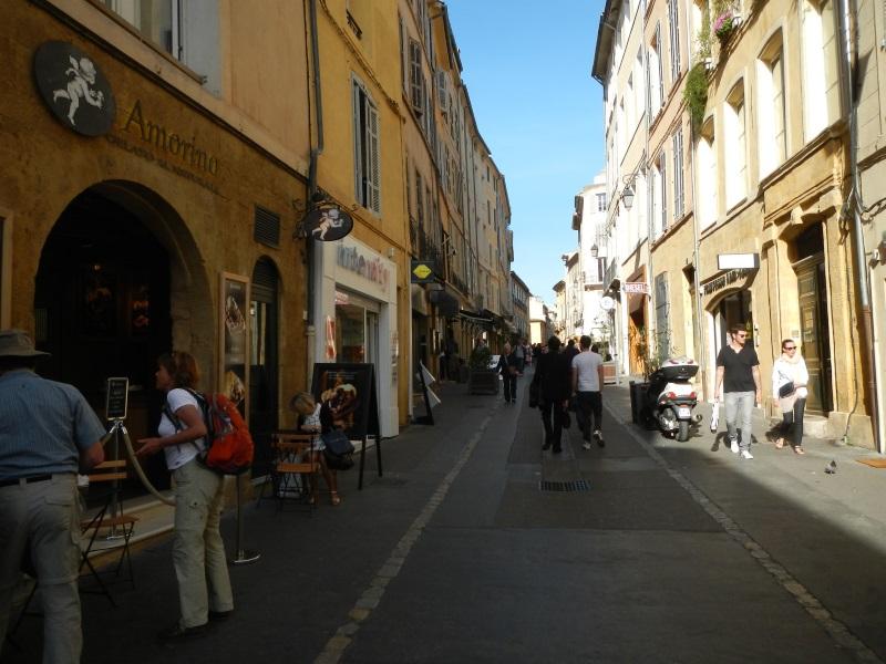 Rue Aude em Aix