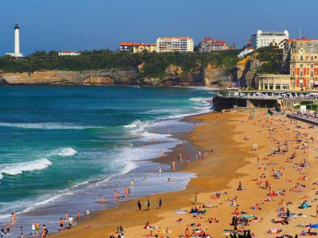 Fuso horário em Biarritz X Brasil