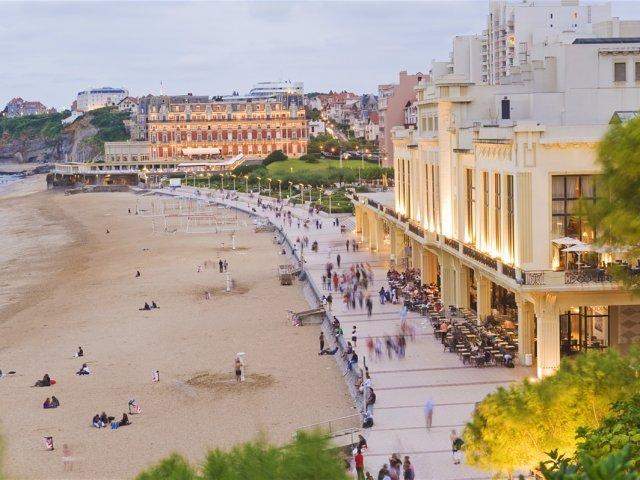 Roteiro de dois dias em Biarritz
