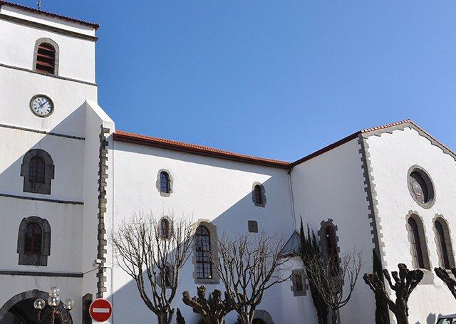 Église Saint Vincent em Hendaye