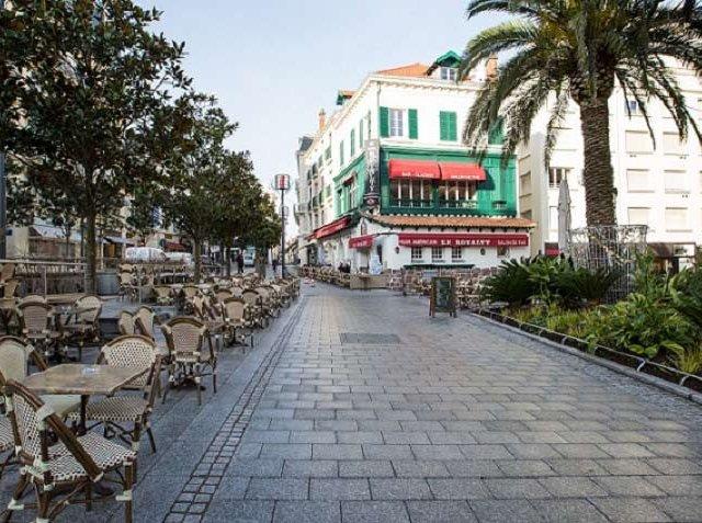 Bairro em Biarritz