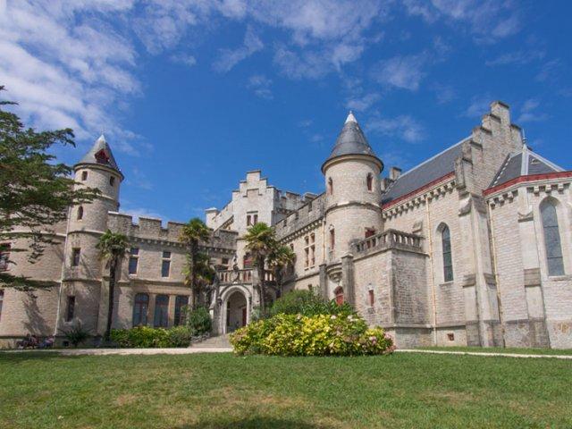 Château d'Abbadia em Hendaye
