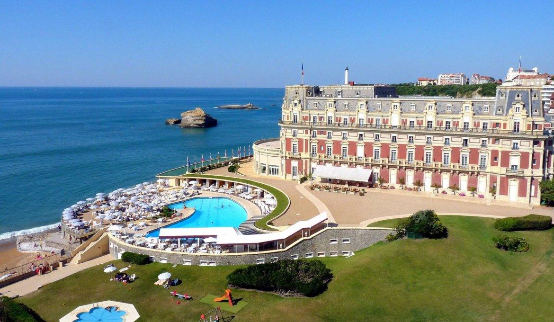 Grande Plage em Biarritz