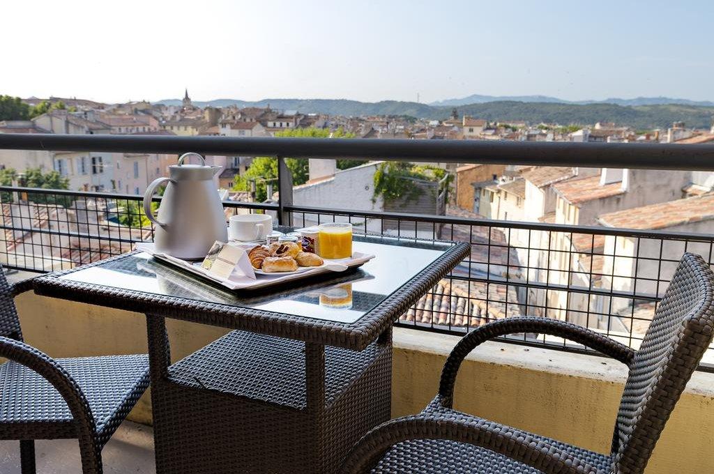 Vista do Aquabella Hotel & Spa em Aix