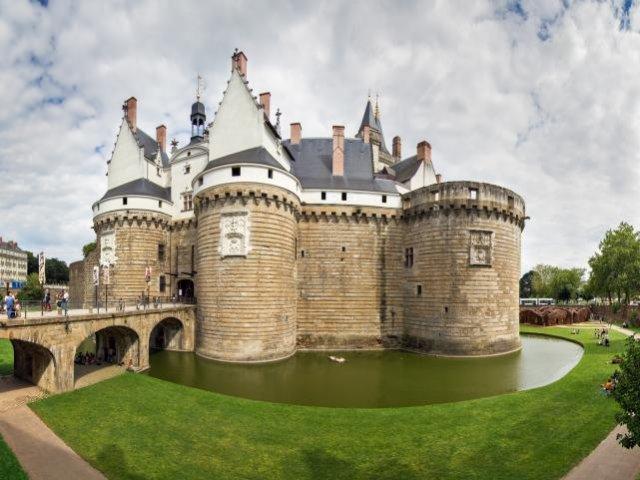 Castelo dos Duques da Bretanha em Nantes